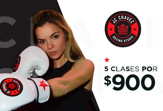 5 clases por $900