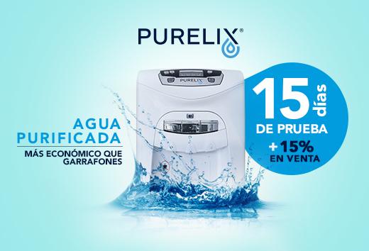 Agua purificada 15% en plan de venta
