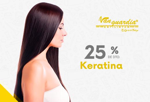 25% en Keratina