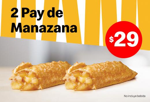2 pays de Manzana por $29
