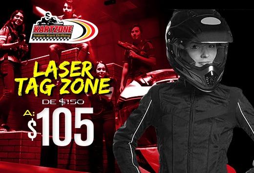 Laser Tag Zone: batalla por $105