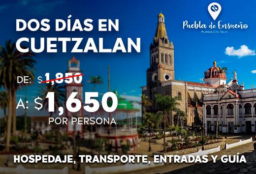 Dos días en Cuetzalan $1,650