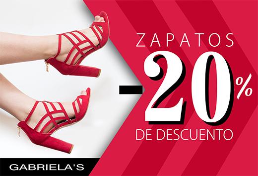 Zapatos 20% de descuento