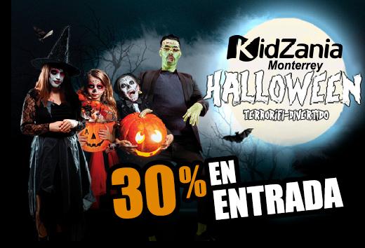 30% en tu entrada a KidZania Monterrey