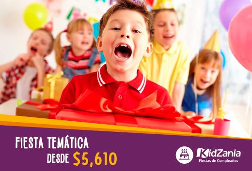 Fiestatemática desde $5,610