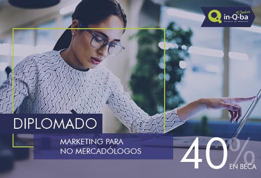 40% Diplomado en marketing para no mercadólogos