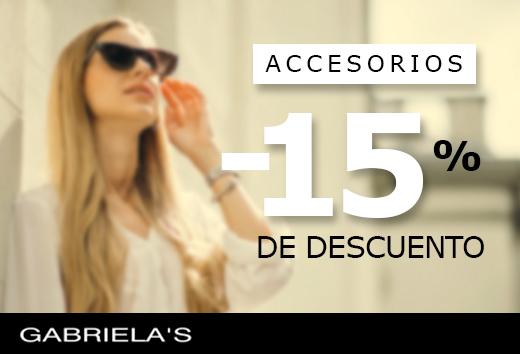 15% en accesorios