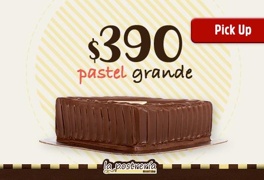 Pastel grande por sólo $390